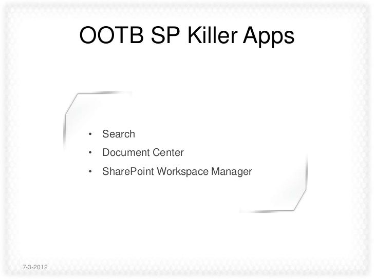 How to build SharePoint applications that everybody loves