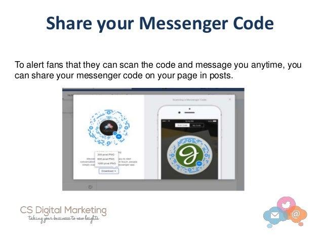 Facebook Messenger Codes, Links and Usernames