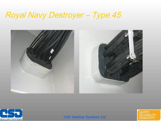 CSD Sealing Systems LtdRoyal Navy Destroyer – Type 45