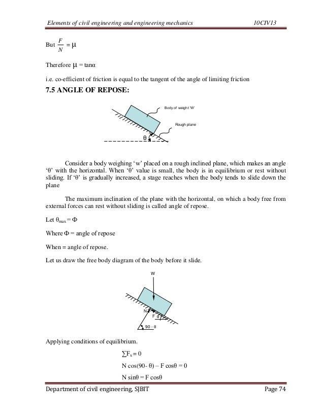 Cse i-elements of civil engg. & engineering mechanics [10 civ-13]-no…
