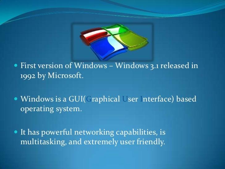 Linux v/s Windows