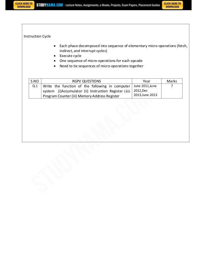Cse second-year-notes-cso notes, books, e book pdf download