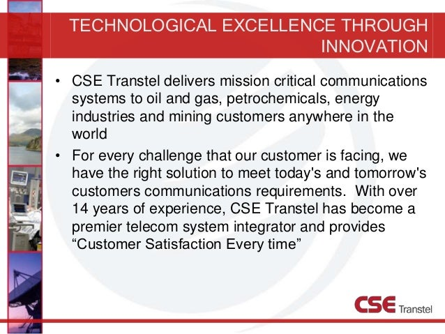Cse trans tel corporate presentation (2013)