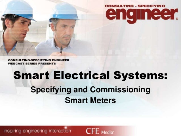 Smart Electrical Systems:Specifying and CommissioningSmart Meters