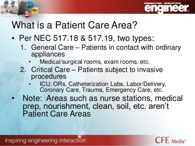 Critical Power Circuit Protection In Health Care Facilities