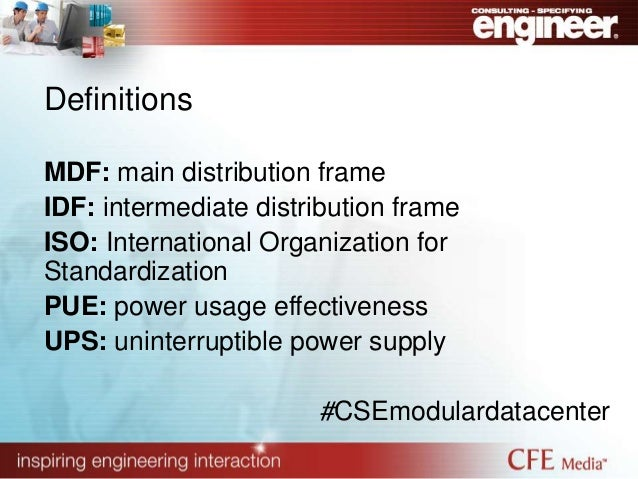 4 definitions mdf main distribution frame idf intermediate