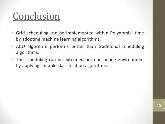 Job Scheduling Using Ant Colony Optimization Algorithm