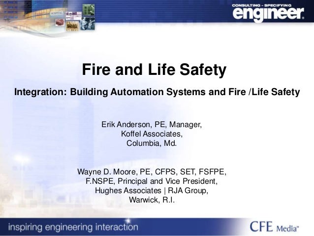 Fire And Life Safety Integration Building Automation
