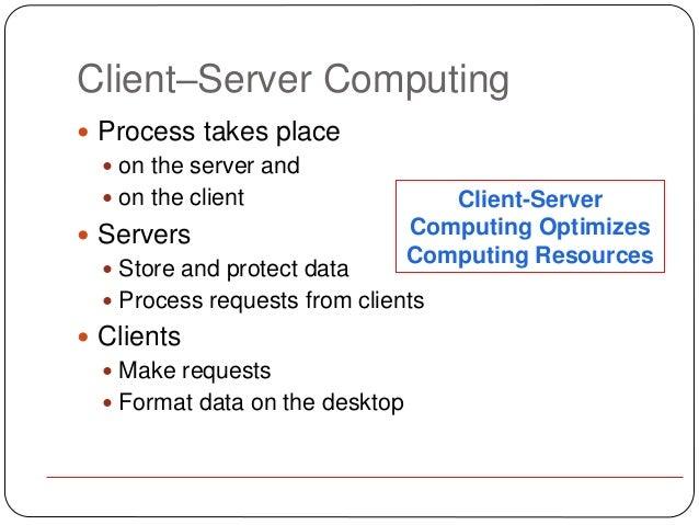 Client Server Architecture ppt