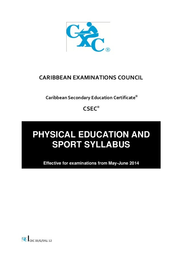 caribbean secondary education certificate human and