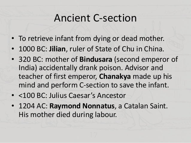 HISTORY OF CESAREAN SECTION DOWNLOAD
