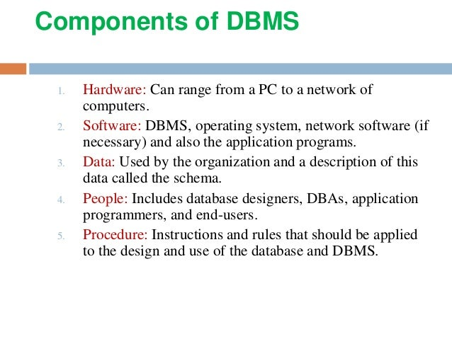 Database Management System ppt