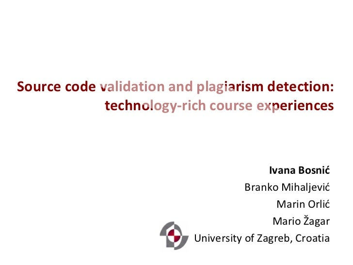 Source code validation and plagiarism detection:             technology-rich course experiences                           ...