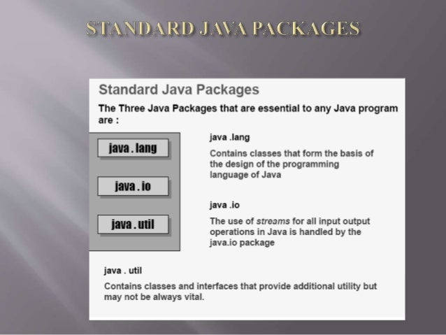 Computer science java ppt.