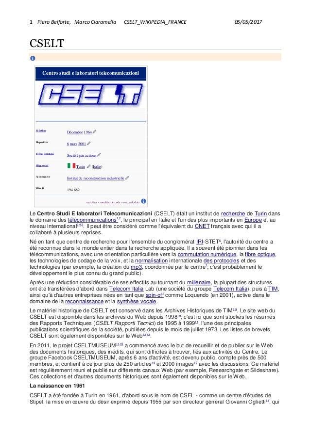 12eed1c938eb6b Cselt wikipedia france_belforte_ciaramella_5_maggio_2017