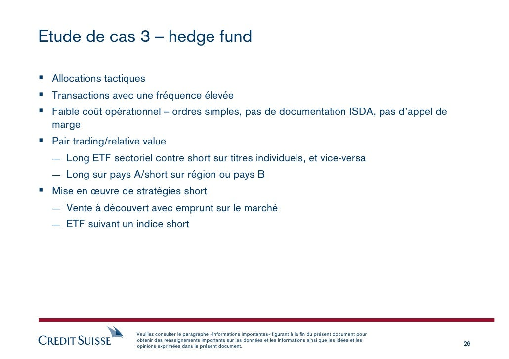 Alternative liquid trading strategies credit suisse