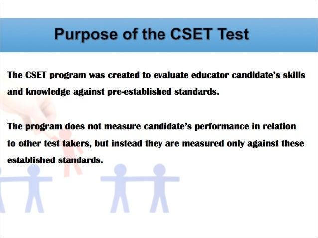 Comparison Between CBEST And CSET