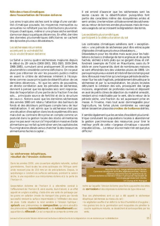 Combattre L 39 Rosion Olienne Un Volet De La Lutte Contre