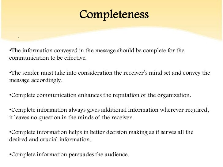 Effective Communication Skills Ppt