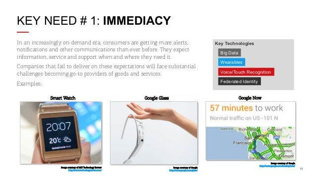 KEY NEED # 1: IMMEDIACY In an increasingly on-demand era, consumers are getting more alerts, notifications and other commun...