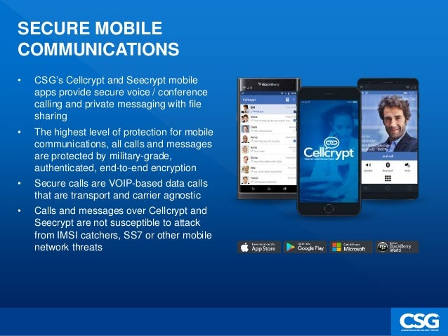 Cellcrypt - An Introduction to Secure Mobile Communications