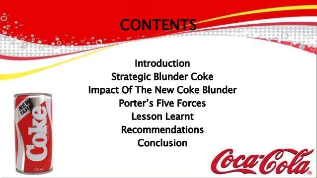 COCA COLA International Strategic Management Project ...