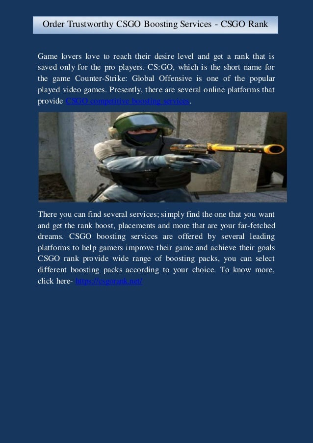 d27e6565bbcbf8 Order Trustworthy CSGO Boosting Services - CSGO Rank. Game lovers love to  reach their desire level and get a rank that is saved only