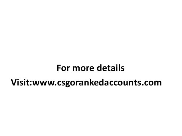 csgo rank chart