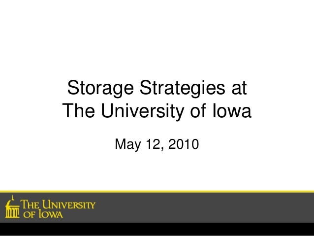Storage Strategies for University Students Touse