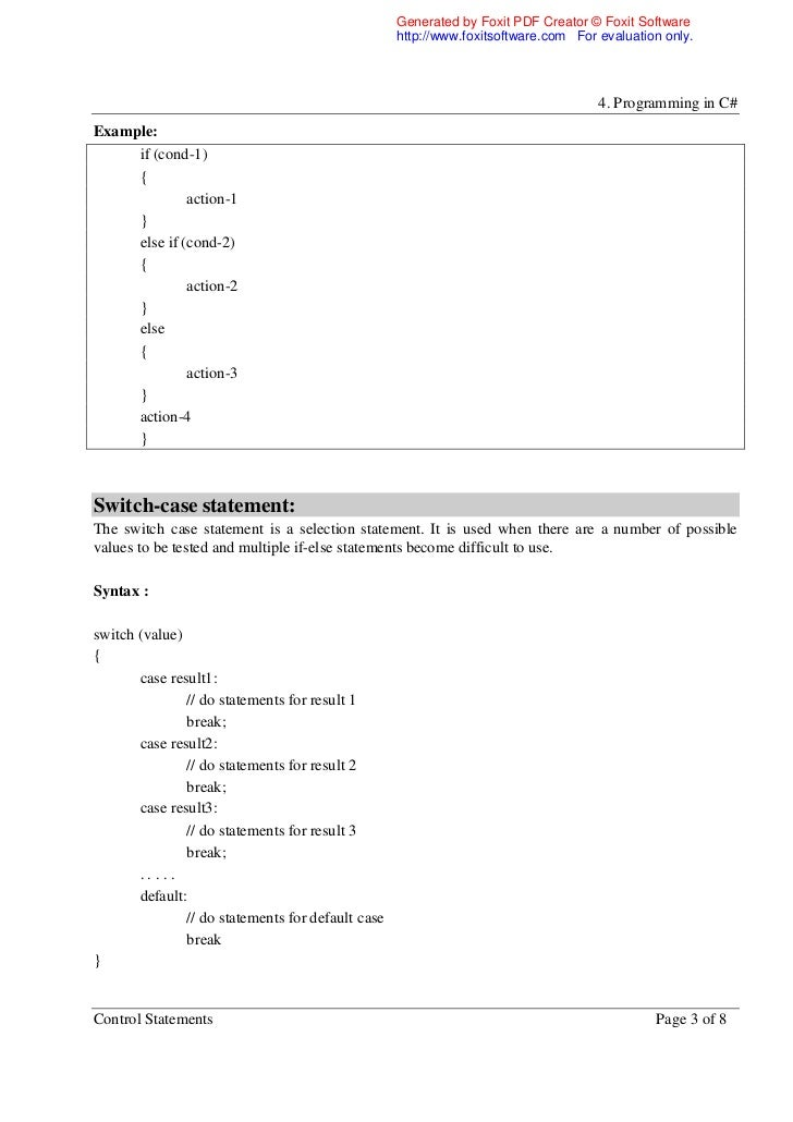 c programming if else example pdf