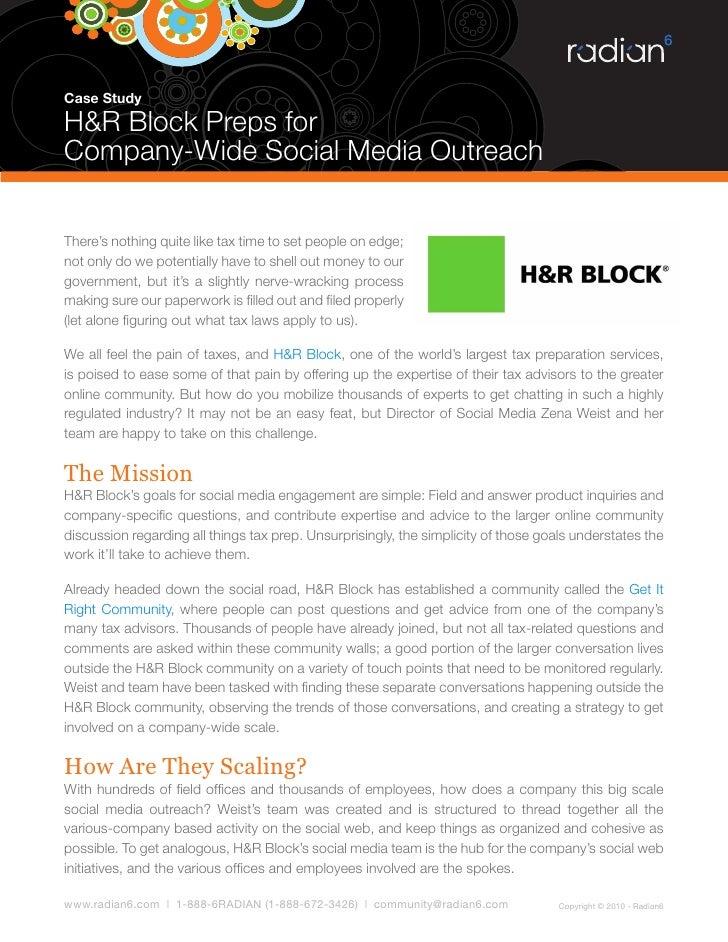 case study 16.2 h&r block
