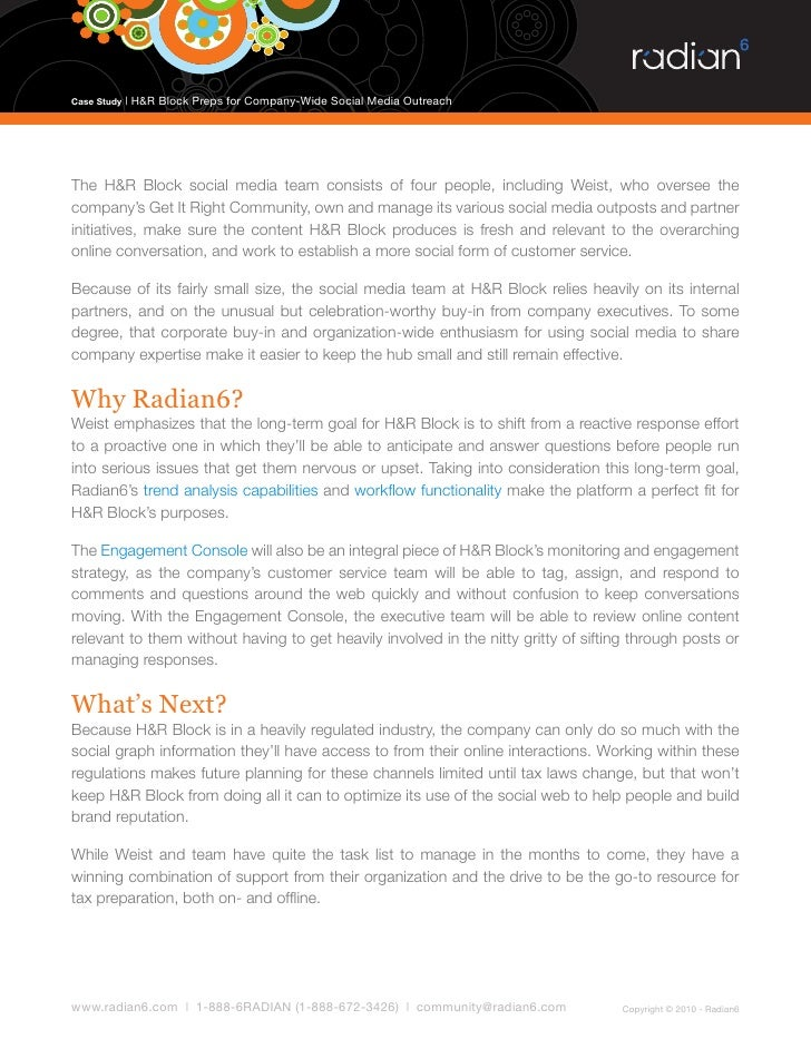 h&r block case study 16.2