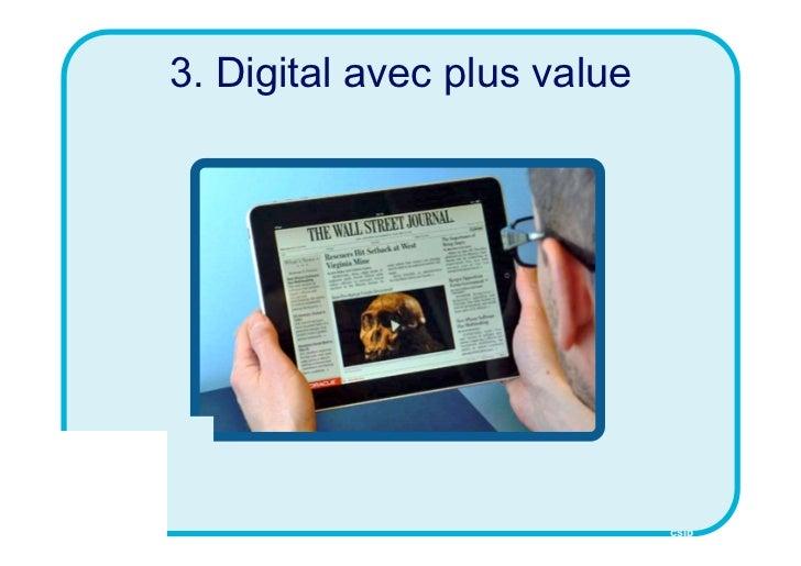 3. Digital avec plus value                             CSID
