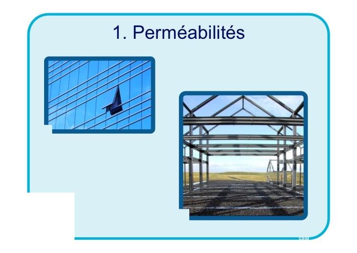 1. Perméabilités                   CSID