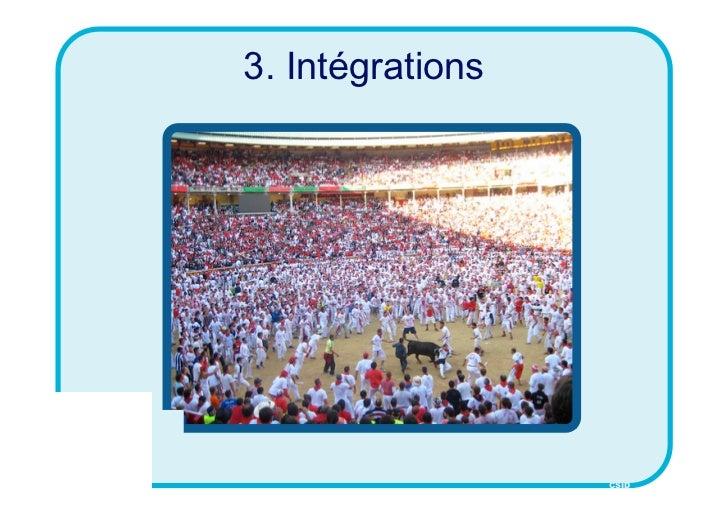 3. Intégrations                  CSID