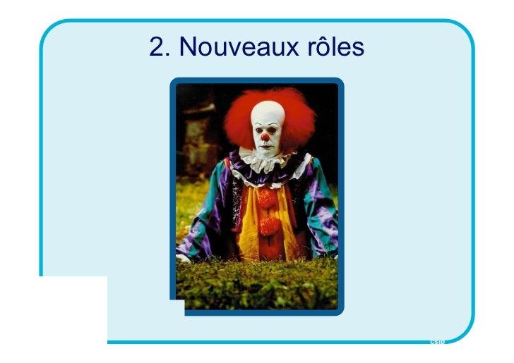 2. Nouveaux rôles                    CSID