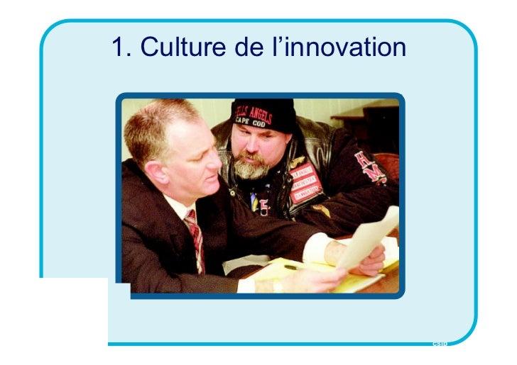 1. Culture de l'innovation                             CSID
