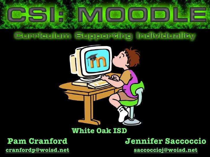 White Oak ISDPam Cranford                      Jennifer Saccocciocranfordp@woisd.net                   saccoccioj@woisd.net