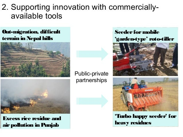 2. Supporting innovation with commercially-   available toolsOut-migration, difficult                    Seeder for mobile...