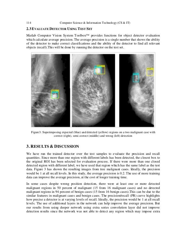 MAMMOGRAPHY LESION DETECTION USING FASTER R-CNN DETECTOR