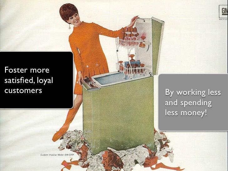 Customer Service is the New Marketing (Next09, Hamburg) Slide 3