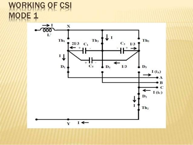 Voltage Source Inverter Circuit Diagram | Current Source Inverter And Voltage Source Inverter