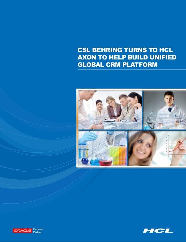 Csl behring-case-study