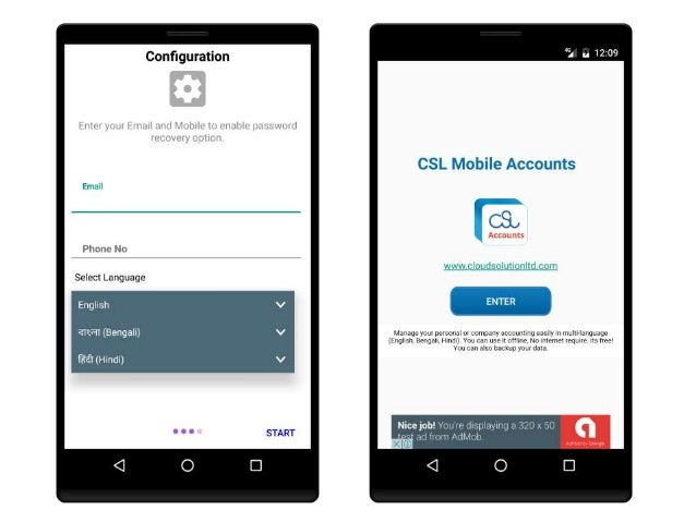 csl mobile accounts is personal or official accounting system rh slideshare net