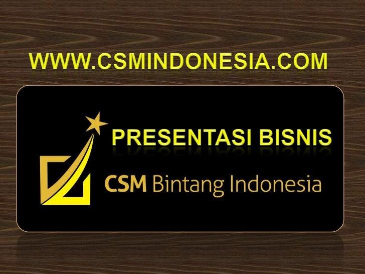 AKTE PENDIRIANPT.CSM BINTANG INDONESIA