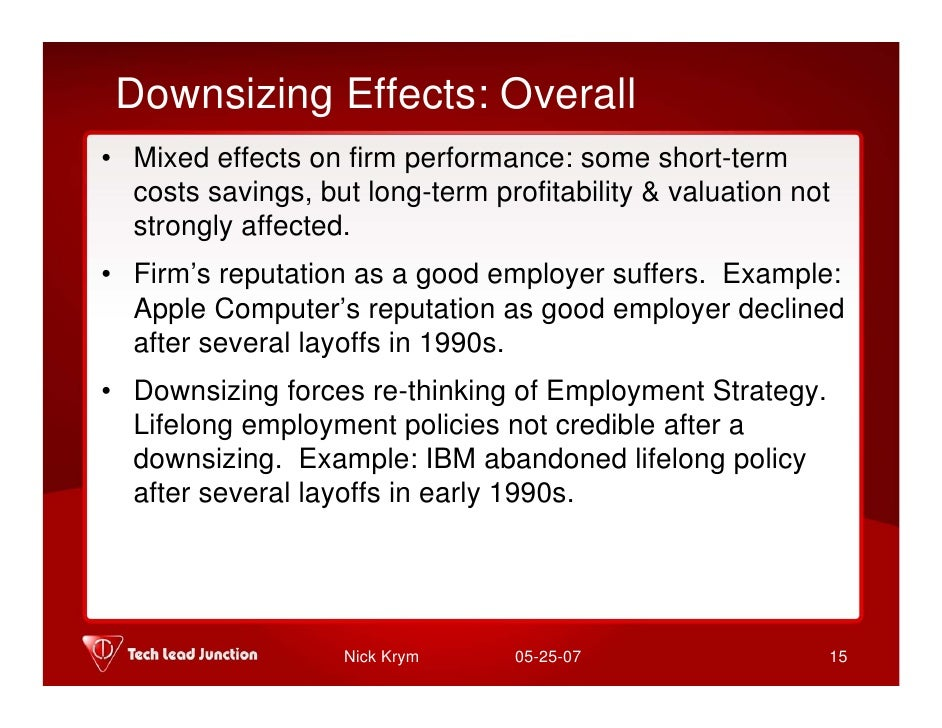 Motivation in Economic Downturn for Surviving Employees