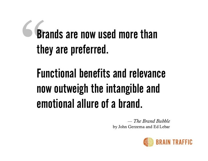 ONLINE, WE DON'T JUST SEE OR READ ABOUT YOUR BRAND. WE USE IT.