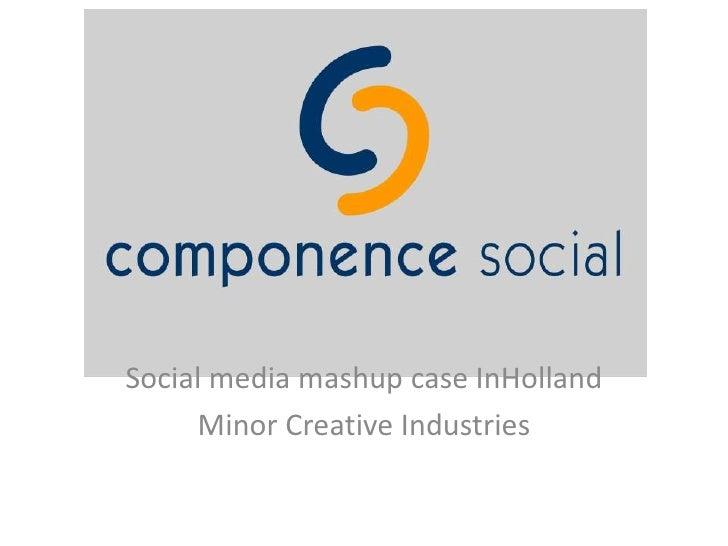 Social media mashup case InHolland<br />Minor Creative Industries<br />