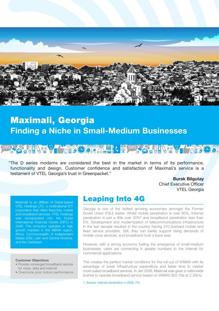Case Study - Maximali : Finding a Niche in Small Medium Businesses