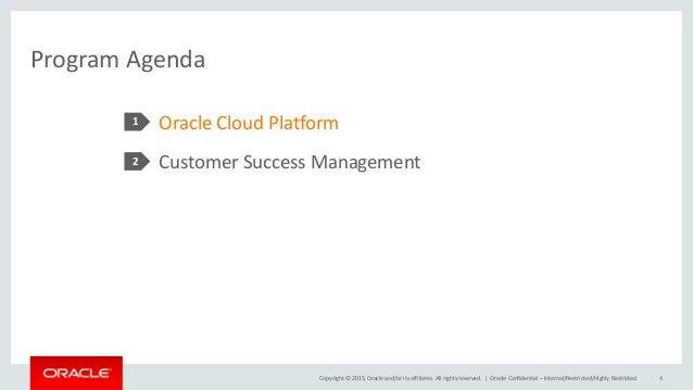 Einführung in das Customer Success Management von Oracle Deutschland Slide 3